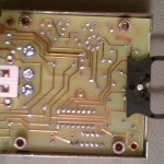 The calibration module PCB - bottom