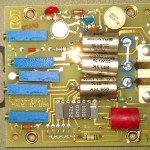 Calibration module PCB - top