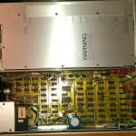 The device with the cover taken of
