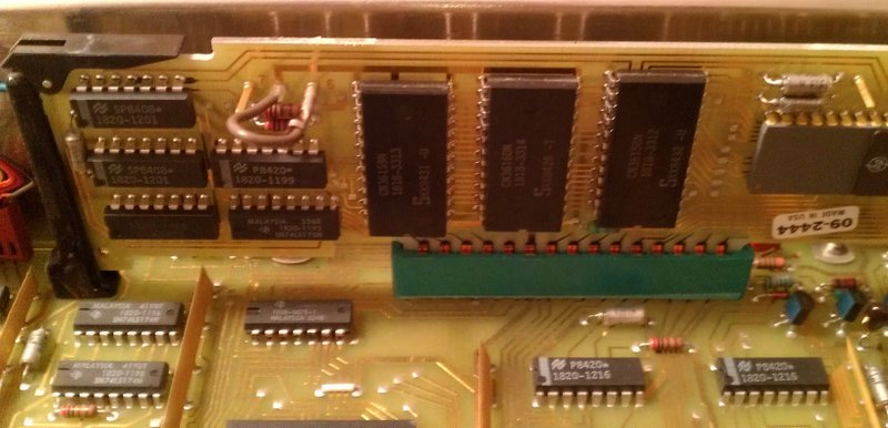 The CPU module itself - Memory (most likely)