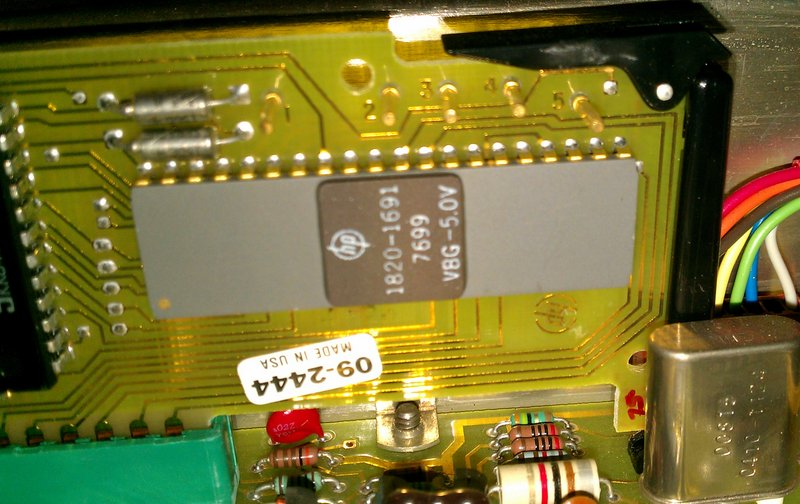 Processor closeup