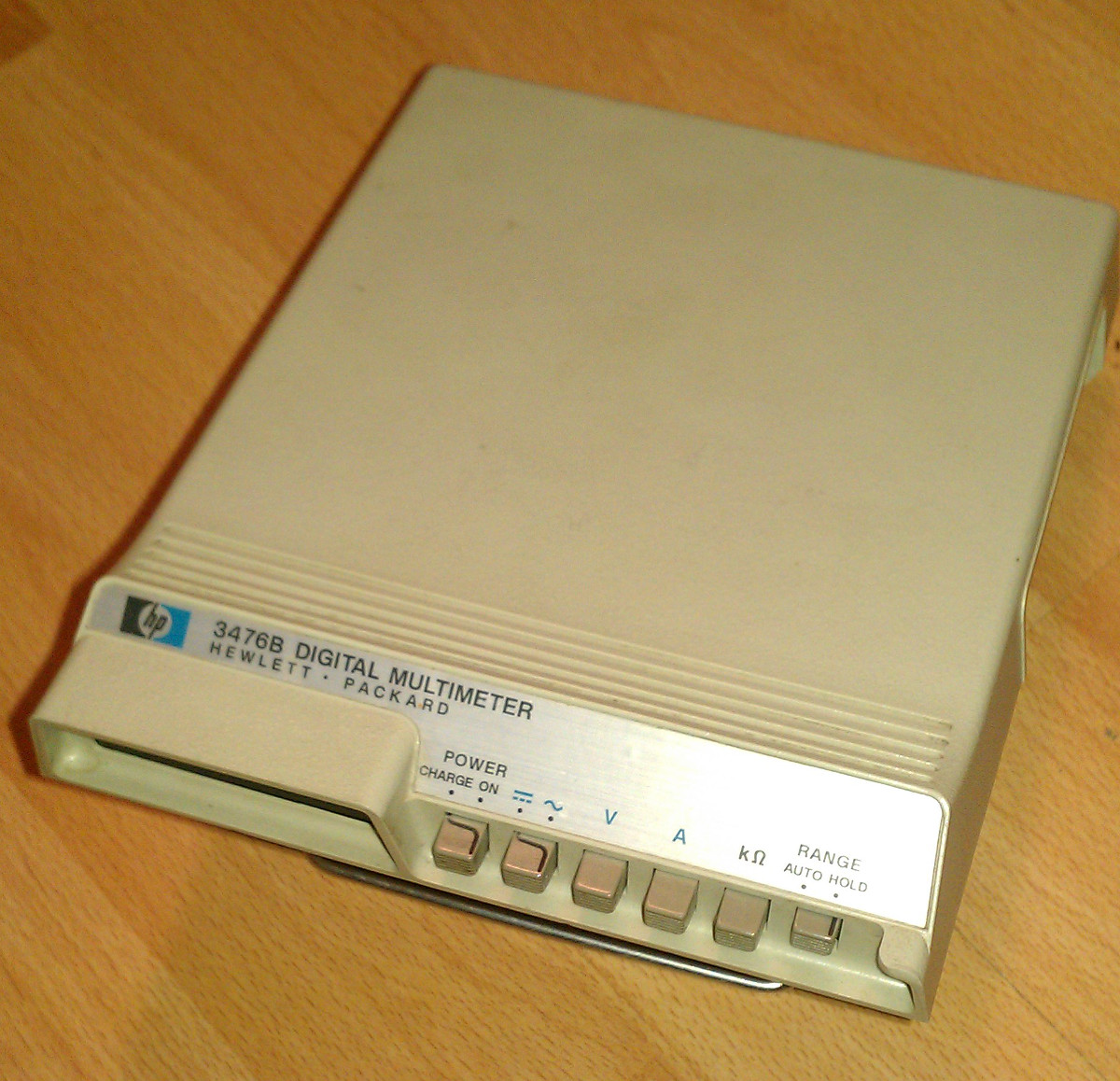 The main body of the HP 3476B DMM